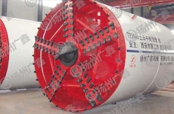 辐条式土压平衡顶管机